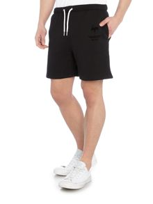 Hype Regular fit jersey logo shorts
