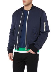 Soulland Thomasson padded bomber jacket