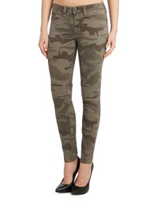 True Religion Halle skinny camo floral jeans