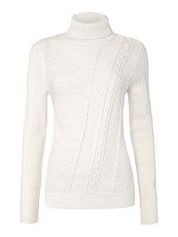 Cutabout Cable Knit Jumper
