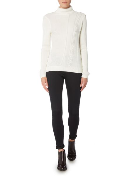 Therapy Cutabout Cable Knit Jumper