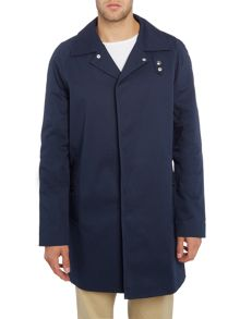 Soulland Ode collared trench coat