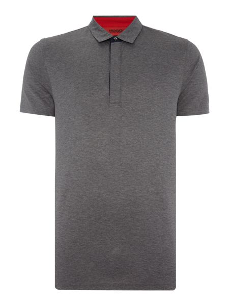 Hugo Dellos Mercerised Cotton Jersey Polo