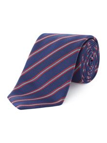 Hugo Two Colour Stripe Tie