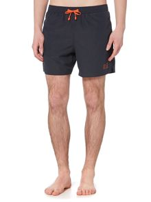 EA7 Plain logo swim shorts