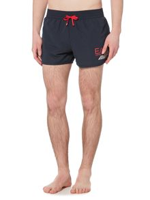EA7 Swim shorts with eagle logo