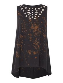 Label Lab Cutwork swing vest