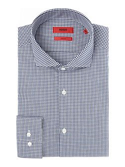 Jason Slim Mini Gingham Shirt