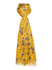 Dickins & Jones Dandelion Print Scarf