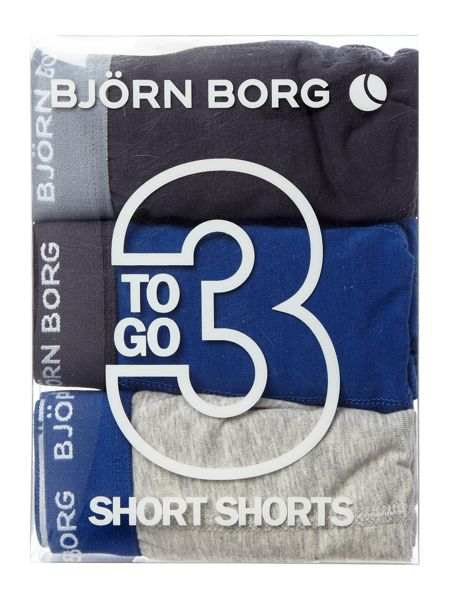 Bjorn Borg Trunk with contrast waistband 3 pack