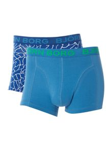 Bjorn Borg Surface and plain trunk 2 pack