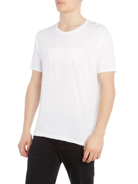 Levi's Line 8 regular fit batwing printed t shirt