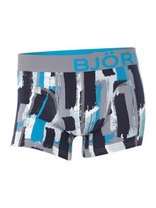 Bjorn Borg Strokes and plain trunk 2 pack
