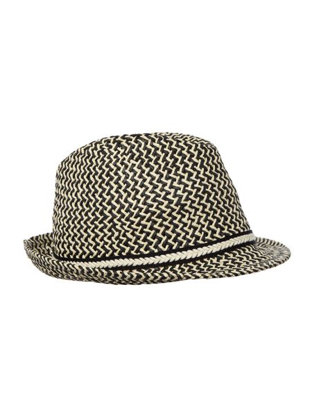 Dickins & Jones Mixed weave trilby