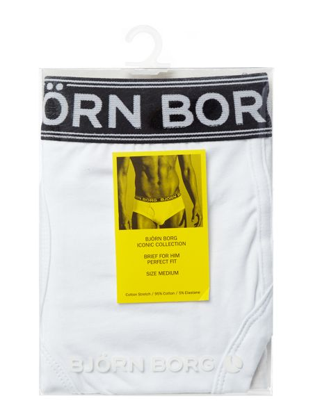 Bjorn Borg Iconic brief with bold seasonal solid waistband