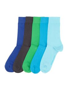 Bjorn Borg Seasonal basic ankle socks 5 pack