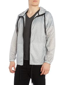 Levi's Line 8 hooded patterned technical jacket