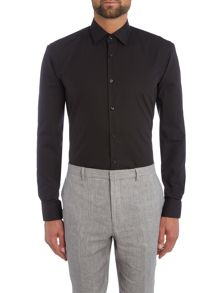 Hugo Joey Slim Solid Colour Shirt with Contrast Trim