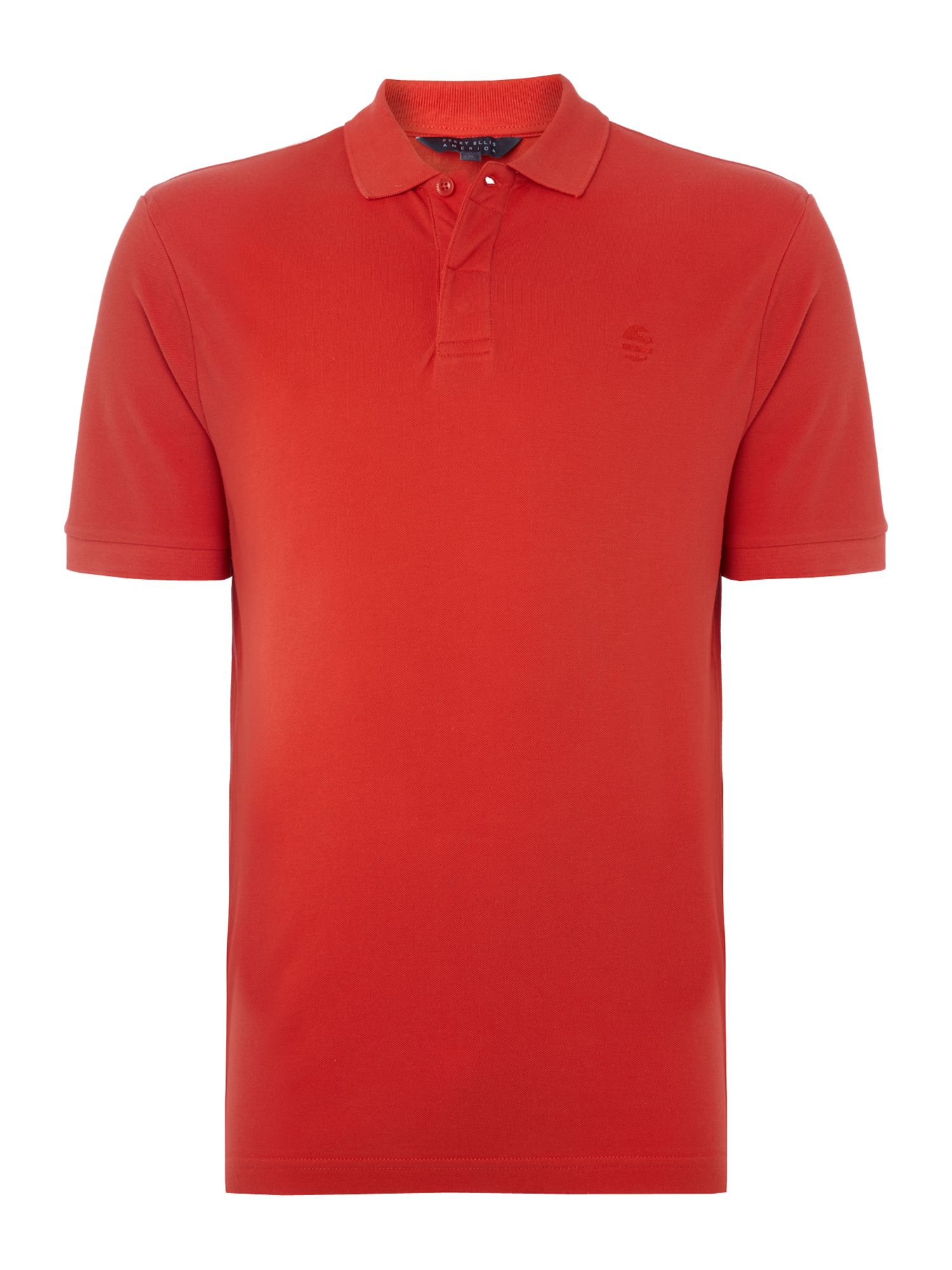Perry Ellis America Men's Perry Ellis America Classic Fit Short Sleeve Polo, Red