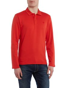 Perry Ellis America Long Sleeve Archive Polo Shirt