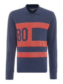 Perry Ellis America Archive Long Sleeve Rugby Shirt