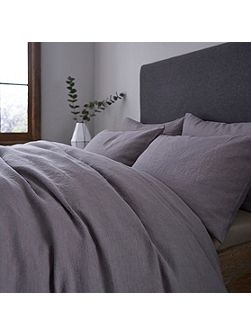 Halston stonewashed linen pillowcase pair