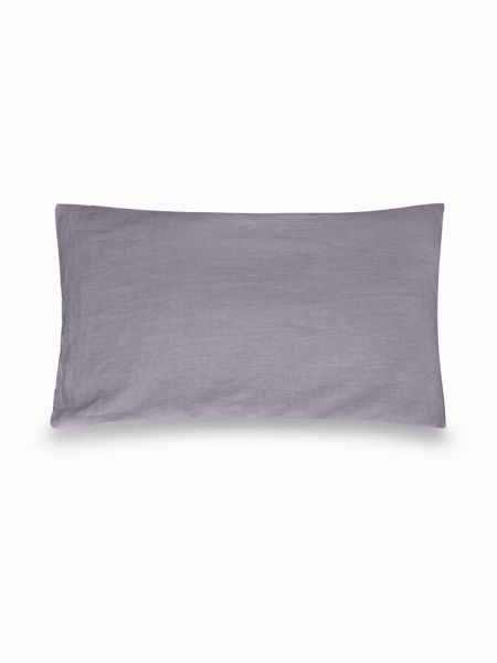 Gray & Willow Halston stonewashed linen pillowcase pair