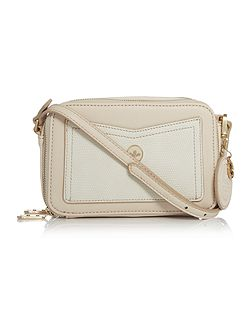 Coco light pink coloured small cross body bag