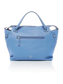 Nica Emma blue medium cross body tote bag