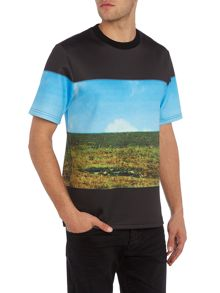 Perry Ellis America Photo Print T-shirt
