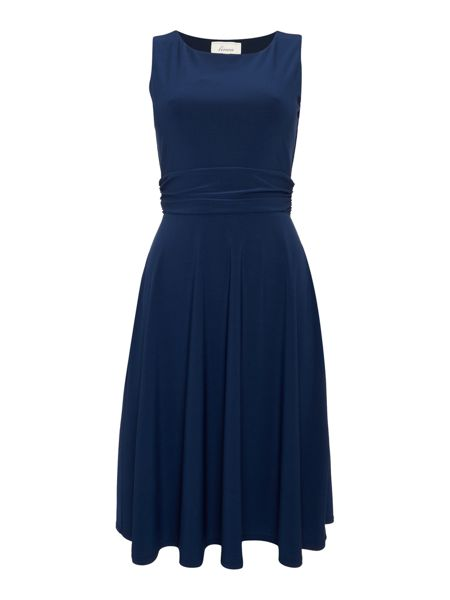Linea Full skirted jersey dress