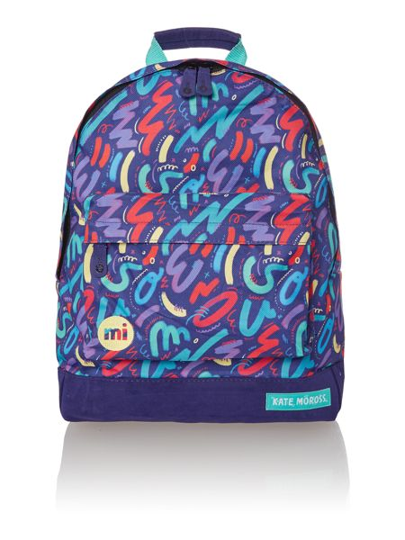 Mi Pac Crayon print backpack