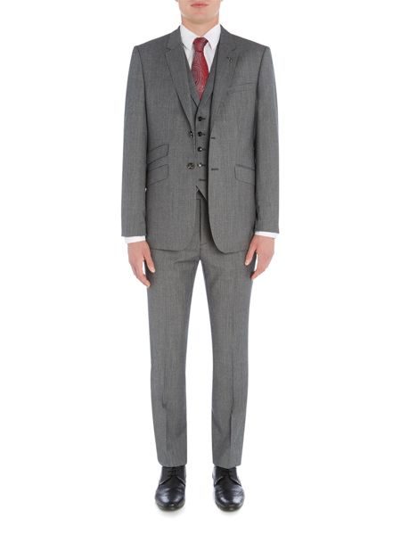 Ted Baker Gather Textured Suit Jacket