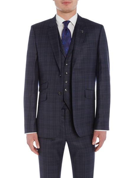 Ted Baker Hunter Check Suit Jacket