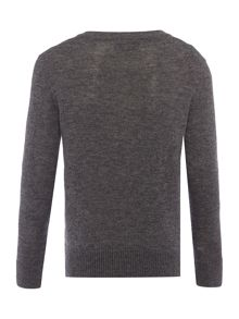 Howick Junior Boys V-neck Lambswool Jumper