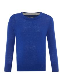 Howick Junior Boys Crew Neck Lambswool Jumper
