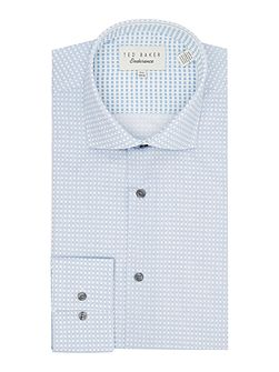 Rosewell Square Geo Print Shirt
