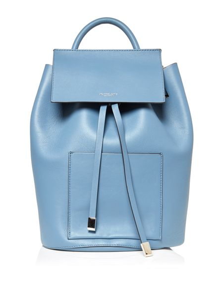 Michael Kors Miranda blue large backpack