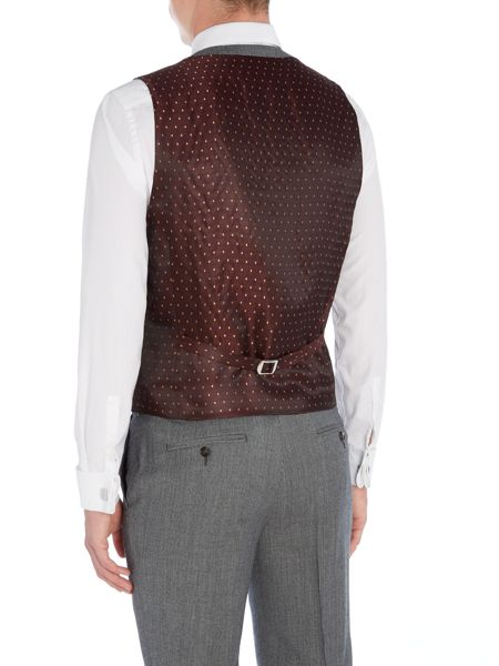 Ted Baker Gather Textured Waistcoat