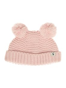 Joules Girls Pom pom hat