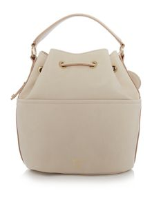 Nica Poppy light pink medium bucket bag