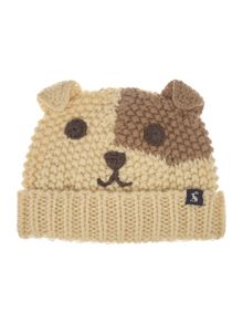 Joules Boys Dog face hat