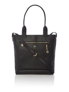 Nica Scarlett black crossbody tote bag