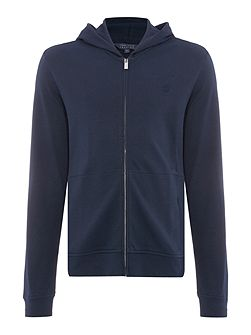 Archive Zip Through Hooded Sweatshirt