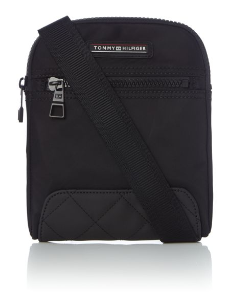 Tommy Hilfiger Nylon mini flat crossover bag