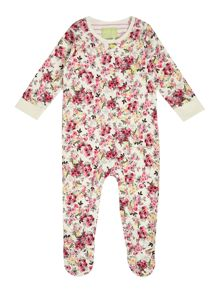 Joules Girls Ditsy floral printed All in one