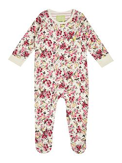 Girls Ditsy floral printed All in one