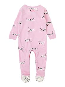 Joules Girls Dalmatian print All in one