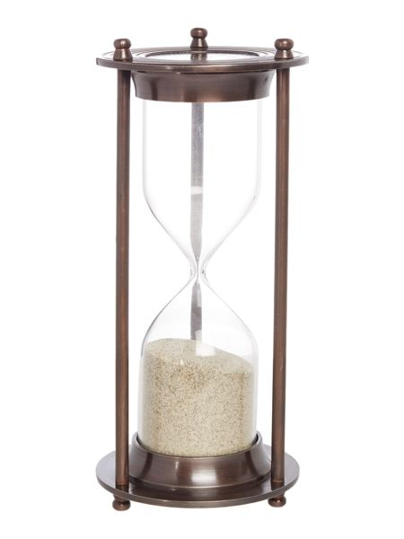 Linea Hourglass Ornament