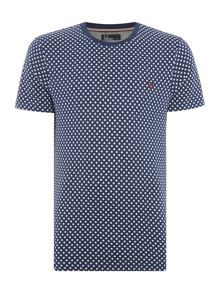 Fred Perry Printed polka dot tshirt